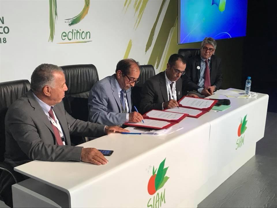 Signature d'un partenariat entre la FIMABIO et l'ONSSA lors de la 13ème édition du SIAM
